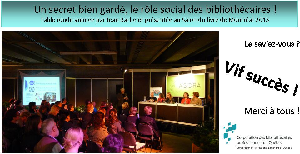 Table ronde Salon livre MTL